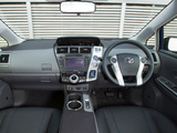 Pictures of Toyota Prius+ UK-spec (ZVW40W) 2012
