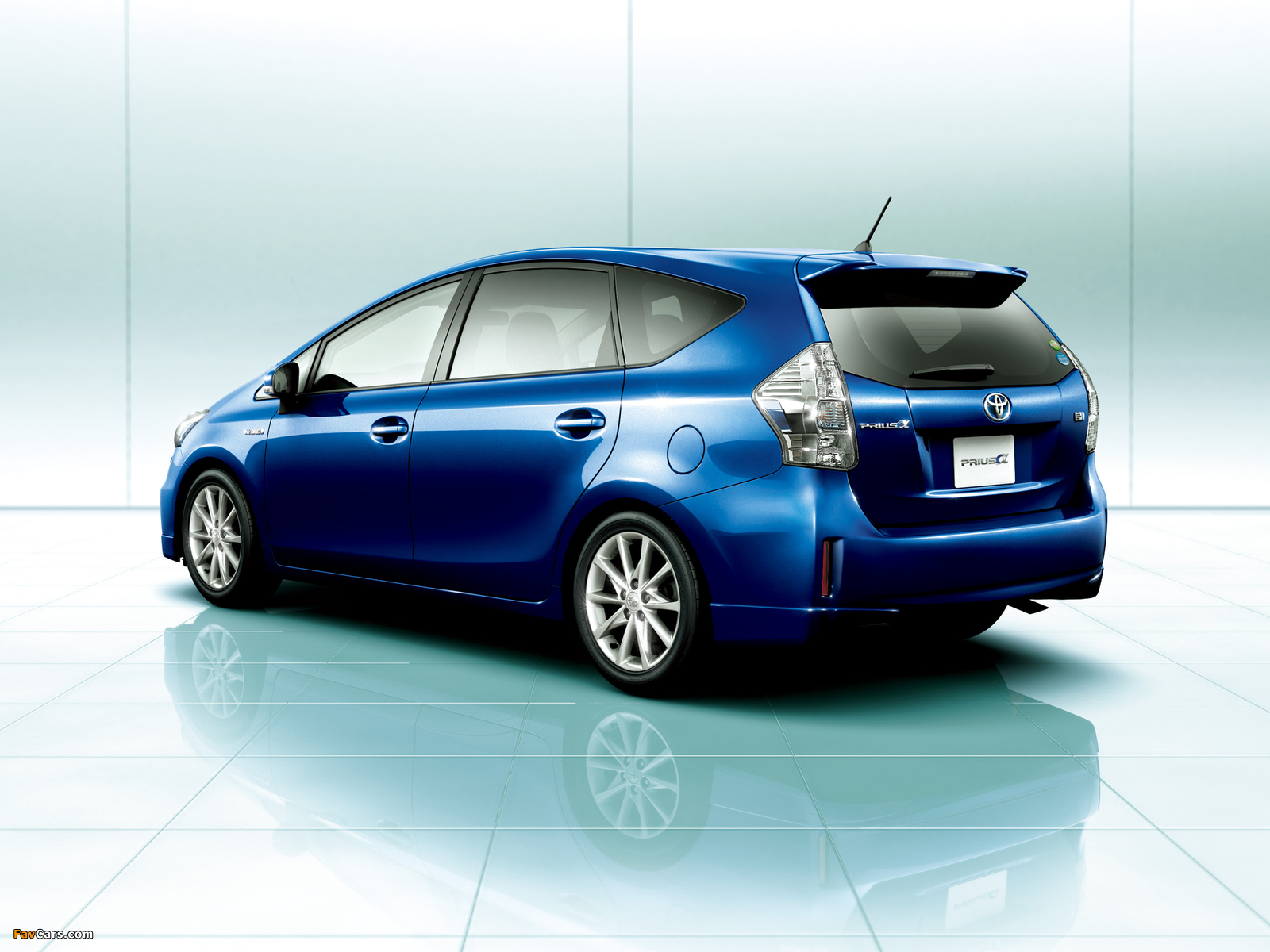 toyota prius α touring selection zvw40w 2011 images