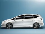 Toyota Prius+ (ZVW40W) 2011 pictures