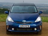 Toyota Prius+ UK-spec (ZVW40W) 2012 pictures