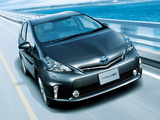 Toyota Prius α Touring Selection (ZVW40W) 2011 wallpapers
