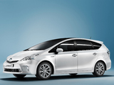 Toyota Prius+ (ZVW40W) 2011 wallpapers