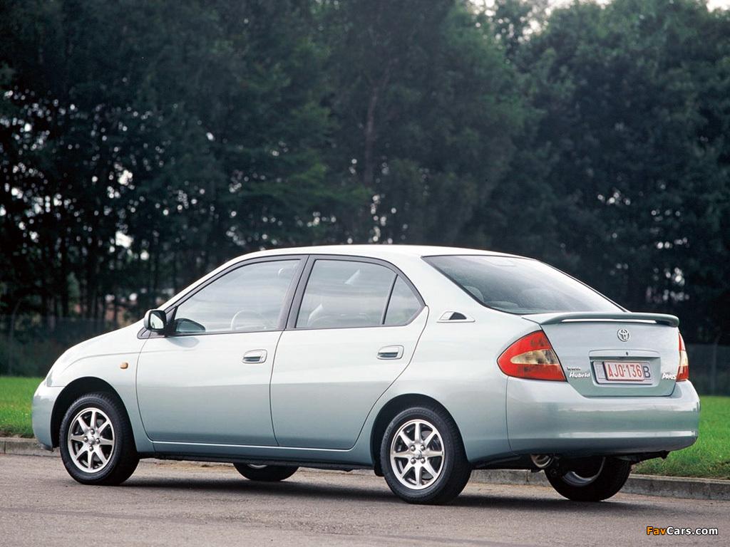 Images of Toyota Prius (NHW10) 1997–2000 (1024 x 768)