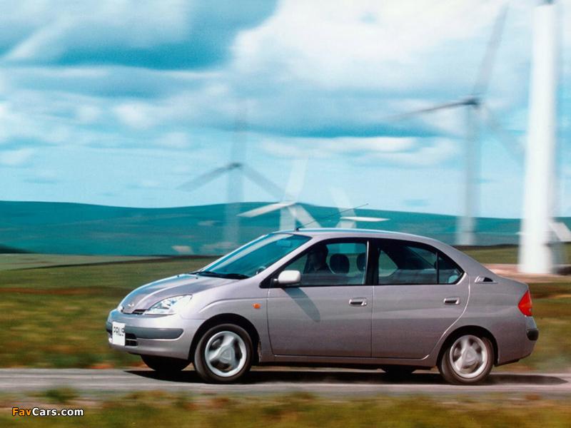 Images of Toyota Prius JP-spec (NHW10) 1997–2000 (800 x 600)