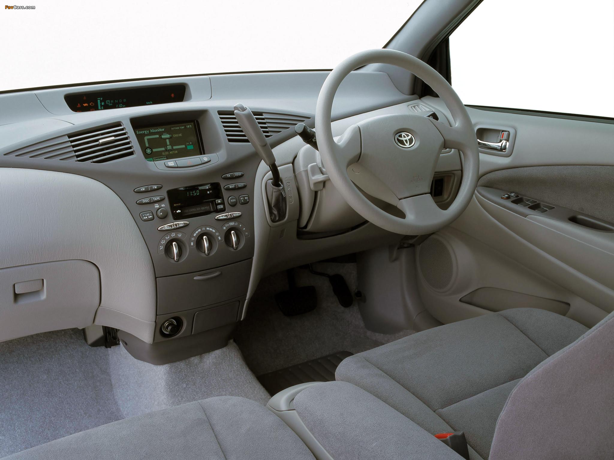 Images of Toyota Prius AU-spec (NHW11) 2001–03 (2048 x 1536)