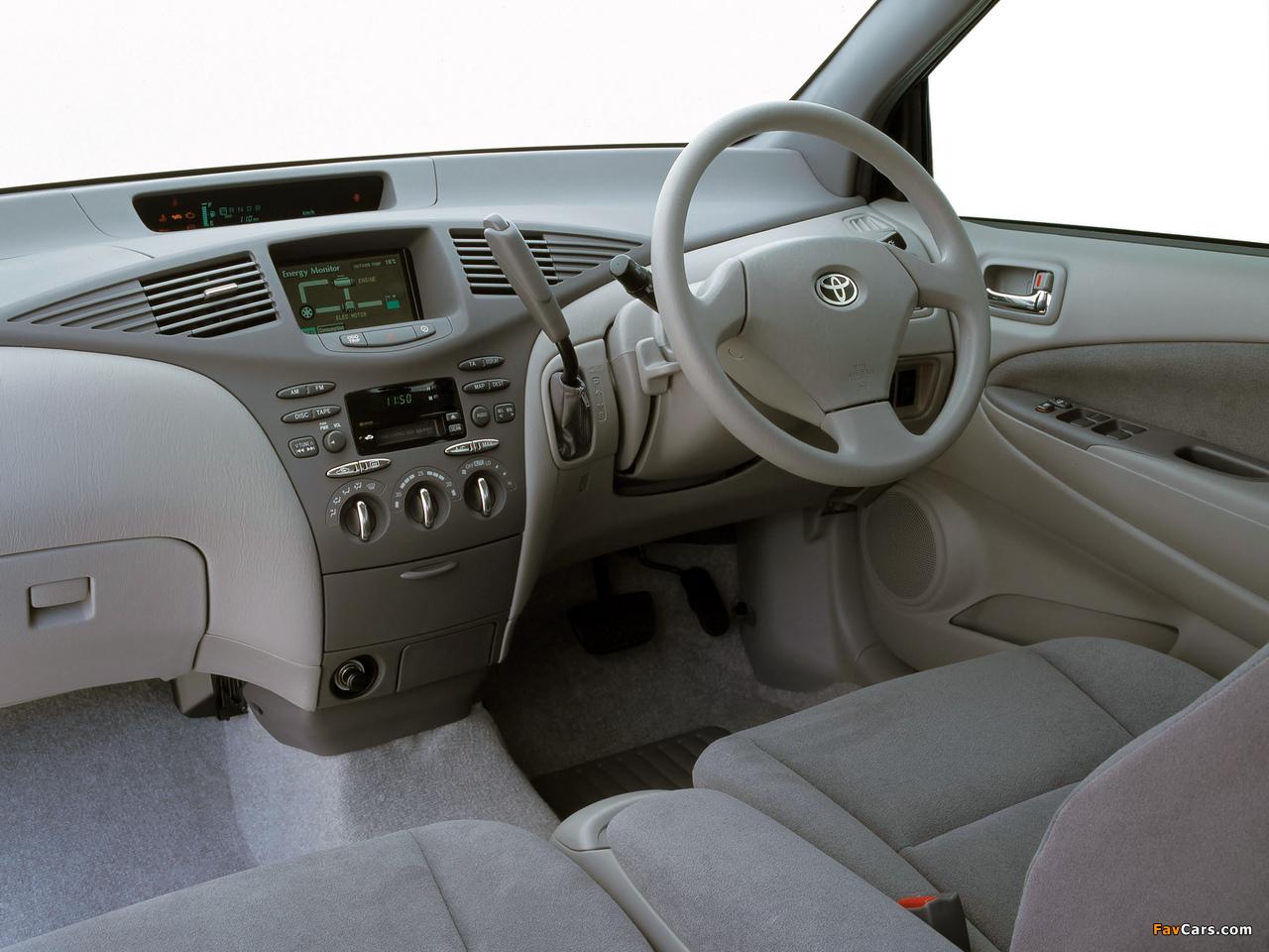 Images of Toyota Prius AU-spec (NHW11) 2001–03 (1280 x 960)