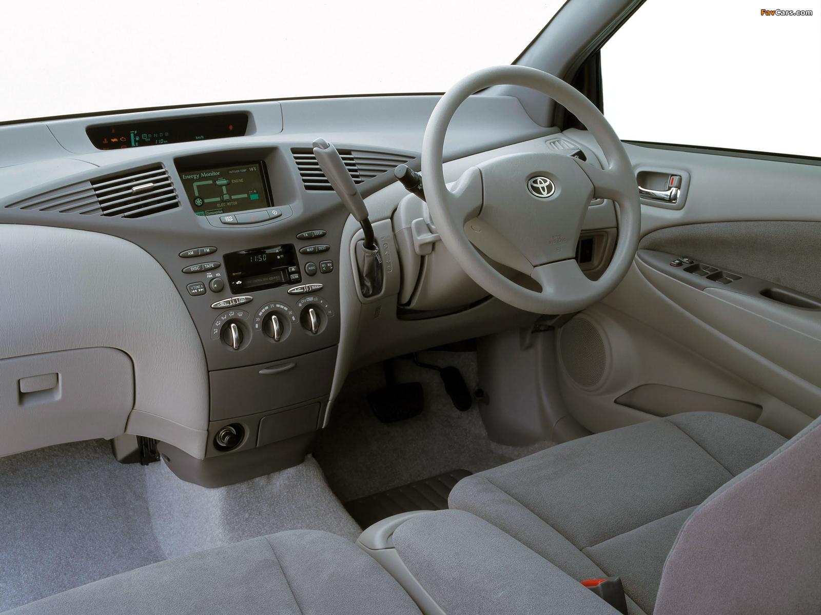 Images of Toyota Prius AU-spec (NHW11) 2001–03 (1600 x 1200)