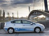 Images of Toyota Prius Plug-In Hybrid Pre-production Test Car EU-spec (ZVW35) 2009–10