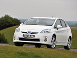 Images of Toyota Prius UK-spec (ZVW30) 2009–11