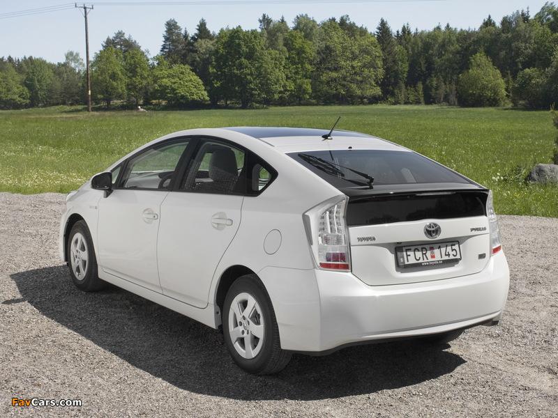 Images of Toyota Prius (ZVW30) 2009–11 (800 x 600)
