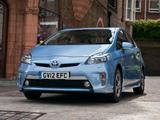Images of Toyota Prius Plug-In Hybrid UK-spec (ZVW35) 2011