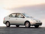 Photos of Toyota Prius US-spec (NHW11) 2000–03
