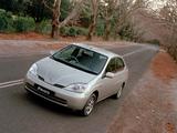 Photos of Toyota Prius AU-spec (NHW11) 2001–03