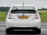 Photos of Toyota Prius UK-spec (ZVW30) 2009–11