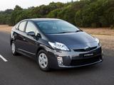 Photos of Toyota Prius AU-spec (ZVW30) 2009–11