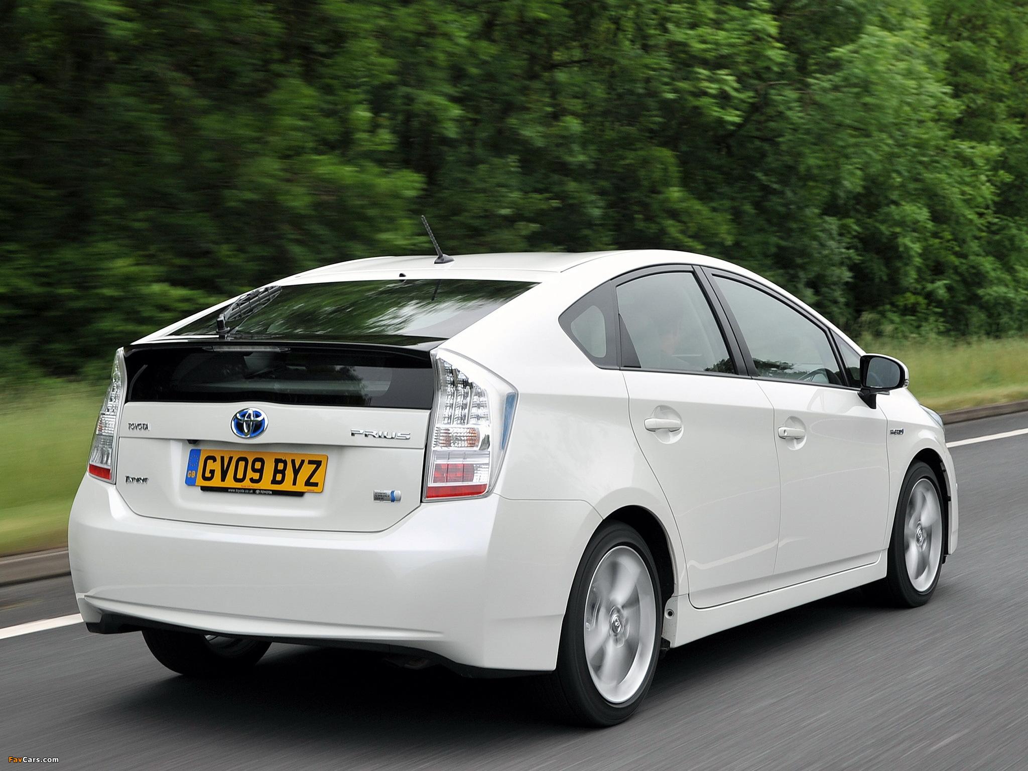 Photos of Toyota Prius UK-spec (ZVW30) 2009–11 (2048 x 1536)