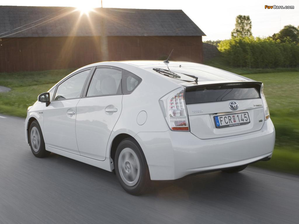 Photos of Toyota Prius (ZVW30) 2009–11 (1024 x 768)