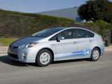 Photos of Toyota Prius Plug-In Hybrid Pre-production Test Car US-spec (ZVW35) 2009–10