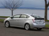 Photos of Toyota Prius US-spec (ZVW30) 2011