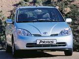 Pictures of Toyota Prius UK-spec (NHW11) 2000–03