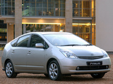 Pictures of Toyota Prius ZA-spec (NHW20) 2003–09