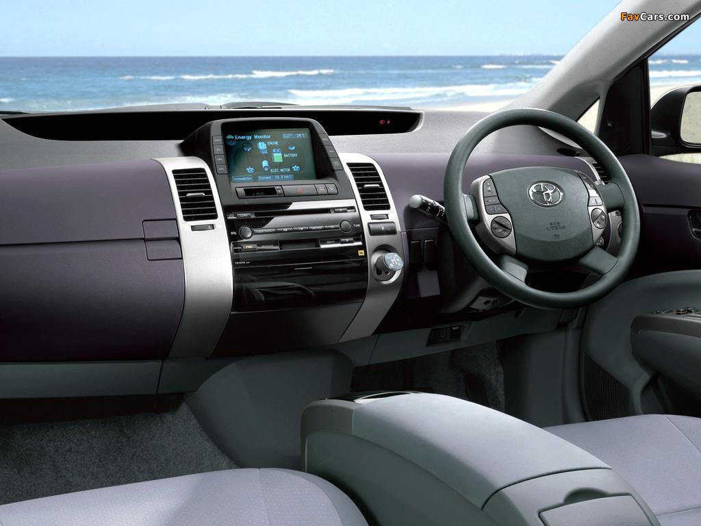 Pictures of Toyota Prius AU-spec (NHW20) 2003–09 (1024 x 768)