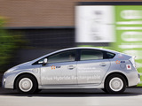 Pictures of Toyota Prius Plug-In Hybrid Pre-production Test Car EU-spec (ZVW35) 2009–10