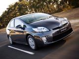 Pictures of Toyota Prius AU-spec (ZVW30) 2009–11