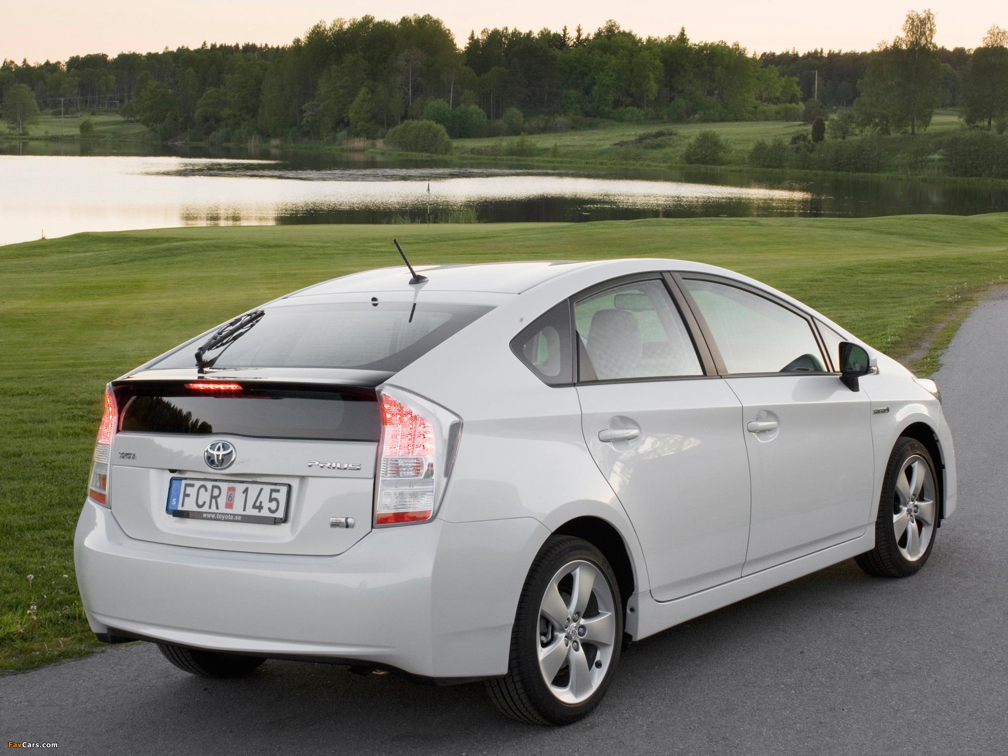Pictures of Toyota Prius (ZVW30) 2009–11 (2048 x 1536)