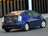Pictures of Toyota Prius ZA-spec (ZVW30) 2009–11