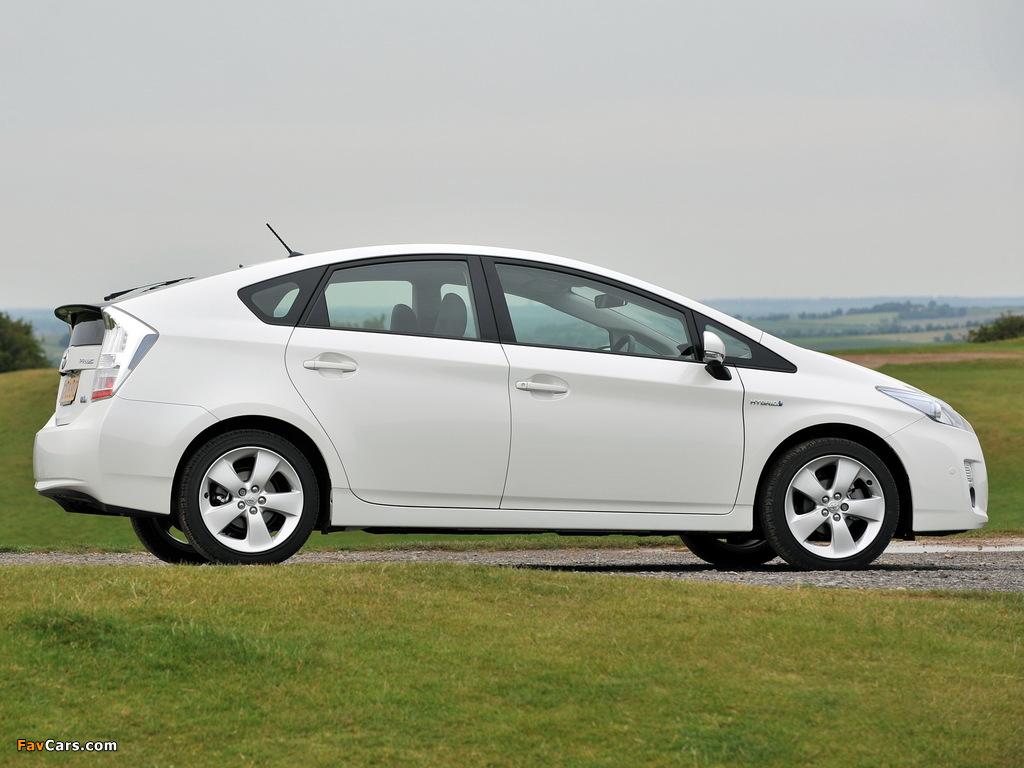 Pictures of Toyota Prius UK-spec (ZVW30) 2009–11 (1024 x 768)
