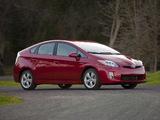 Pictures of Toyota Prius US-spec (ZVW30) 2009–11