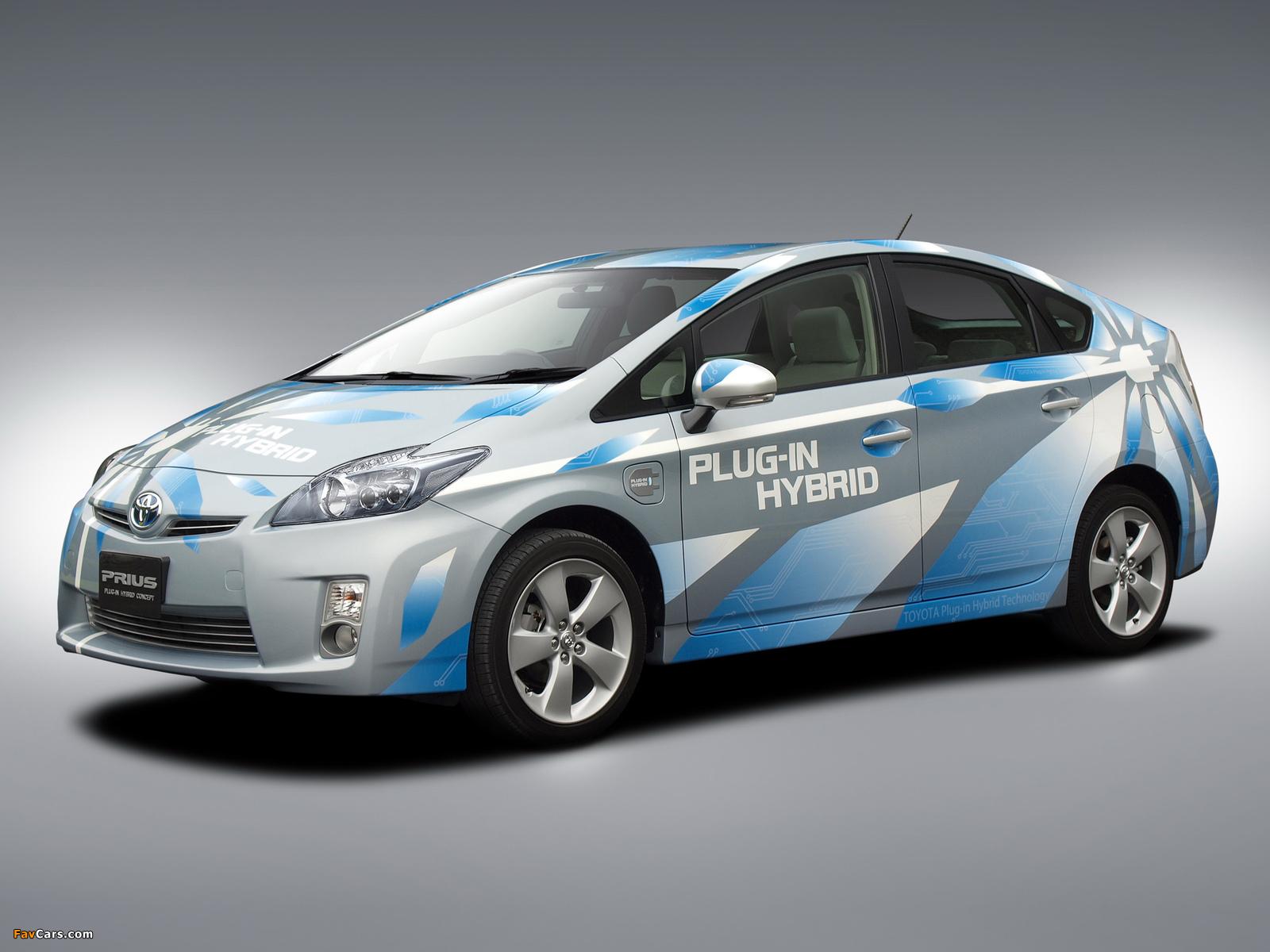 Pictures of Toyota Prius Plug-In Hybrid Concept US-spec (ZVW35) 2009 (1600 x 1200)