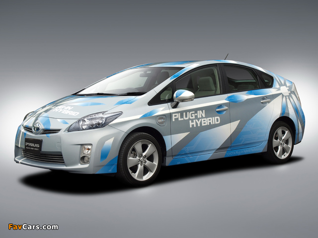 Pictures of Toyota Prius Plug-In Hybrid Concept US-spec (ZVW35) 2009 (640 x 480)