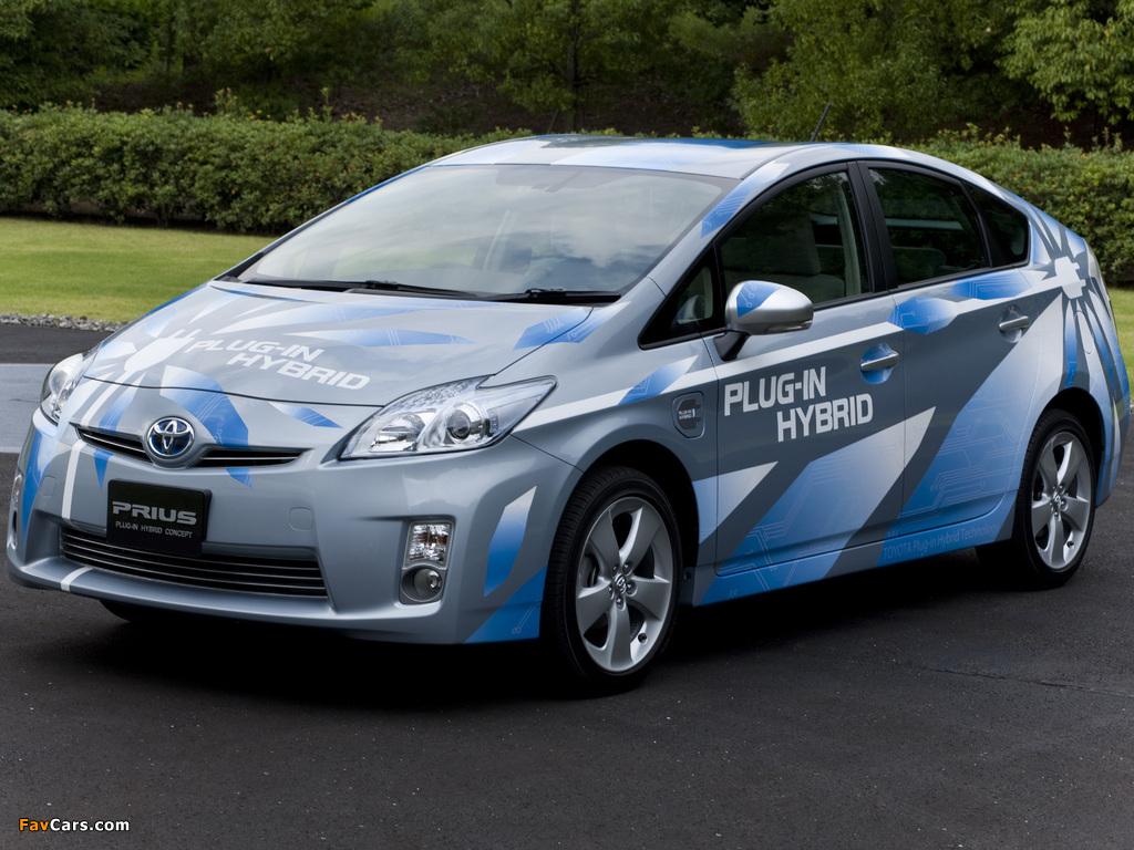 Pictures of Toyota Prius Plug-In Hybrid Concept US-spec (ZVW35) 2009 (1024 x 768)