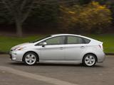 Pictures of Toyota Prius US-spec (ZVW30) 2011