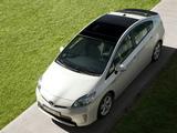 Pictures of Toyota Prius (ZVW30) 2011