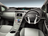 Pictures of Toyota Prius PHV G Leather Package (ZVW35) 2011