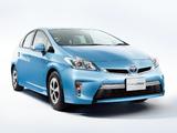 Pictures of Toyota Prius PHV S (ZVW35) 2011
