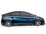 Pictures of Toyota Prius Tekked-Out by Clint Bowyer Team 2012