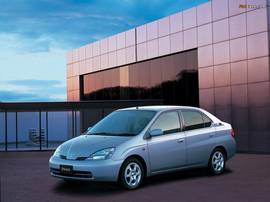 Toyota Prius (NHW10) 1997–2000 photos (1024 x 768)