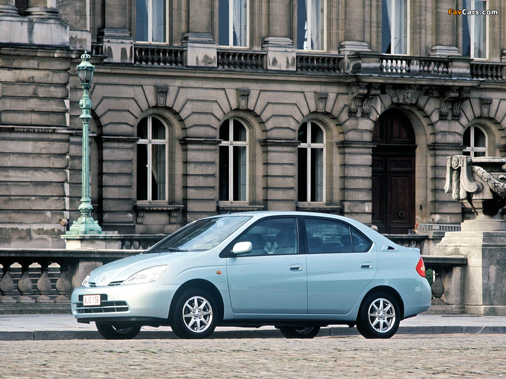 Toyota Prius (NHW10) 1997–2000 pictures (1024 x 768)