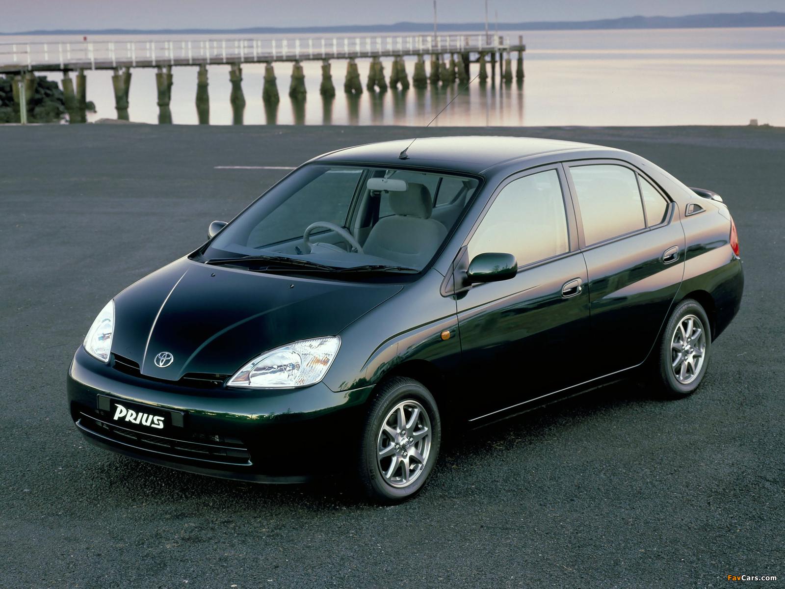 Toyota Prius AU-spec (NHW11) 2001–03 images (1600 x 1200)