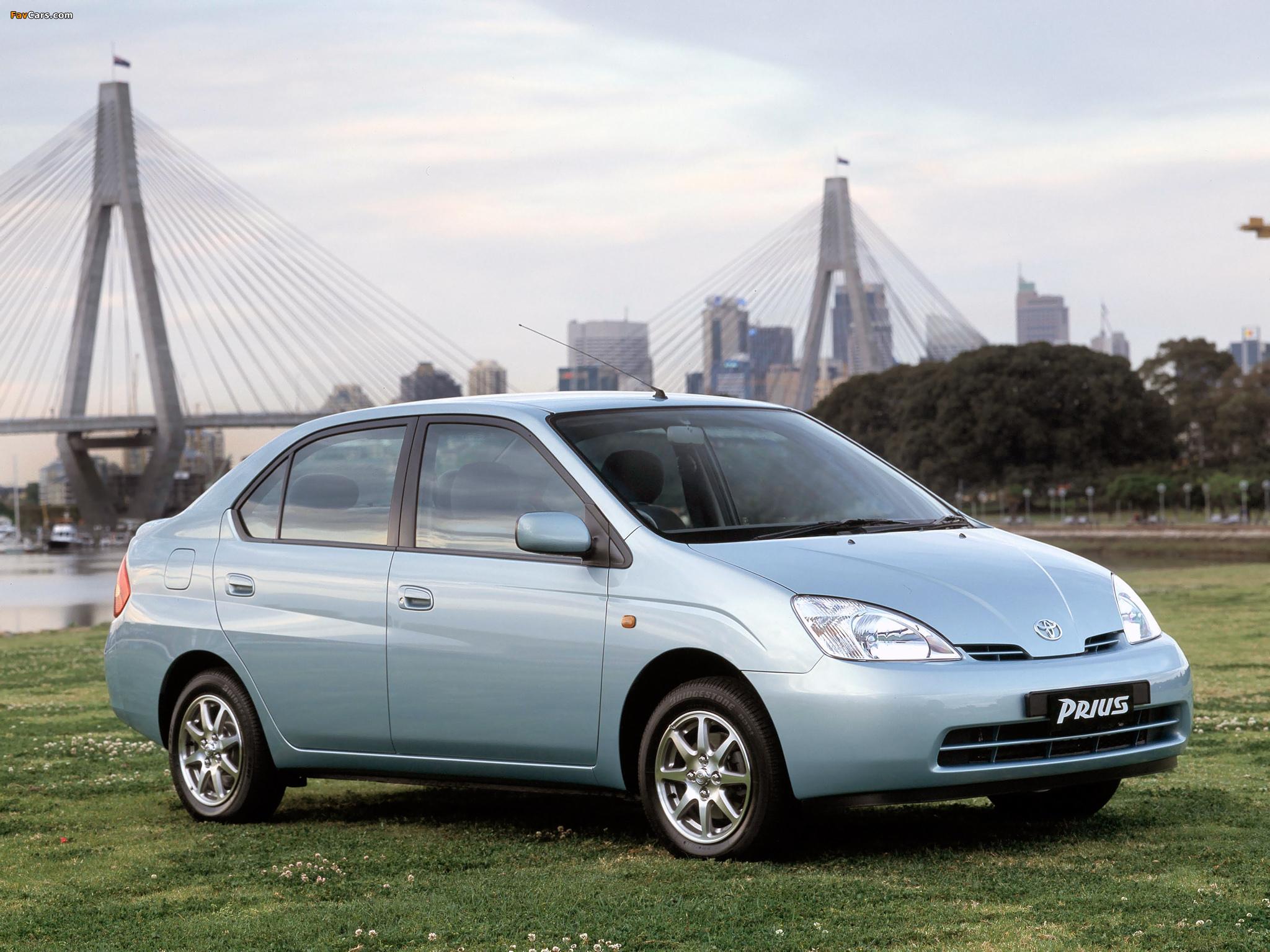 Toyota Prius AU-spec (NHW11) 2001–03 photos (2048 x 1536)