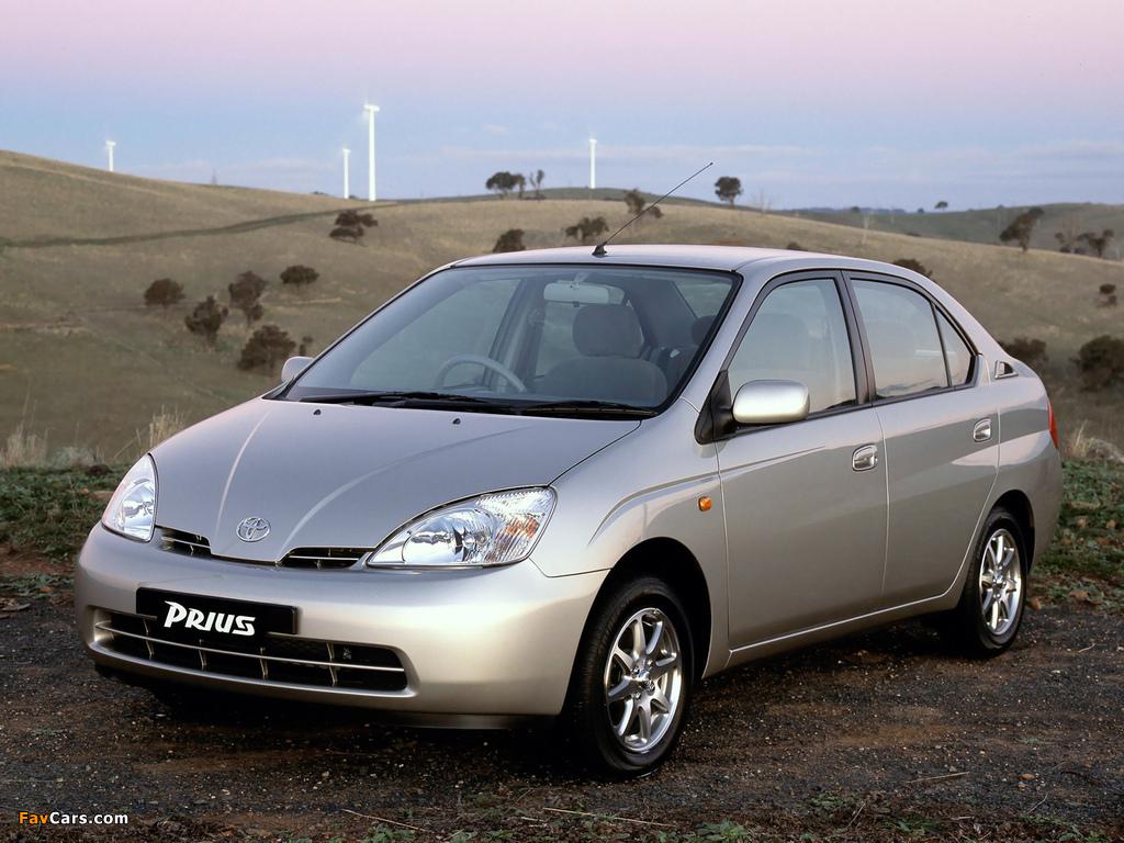 Toyota Prius AU-spec (NHW11) 2001–03 photos (1024 x 768)