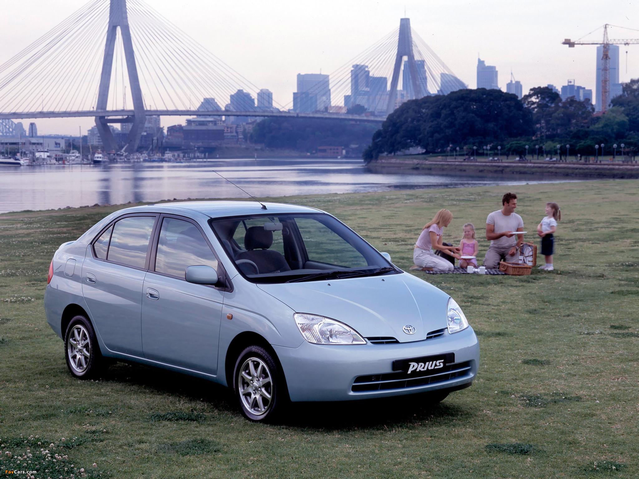 Toyota Prius Au Spec Nhw11 2001 03 Pictures 2048x1536