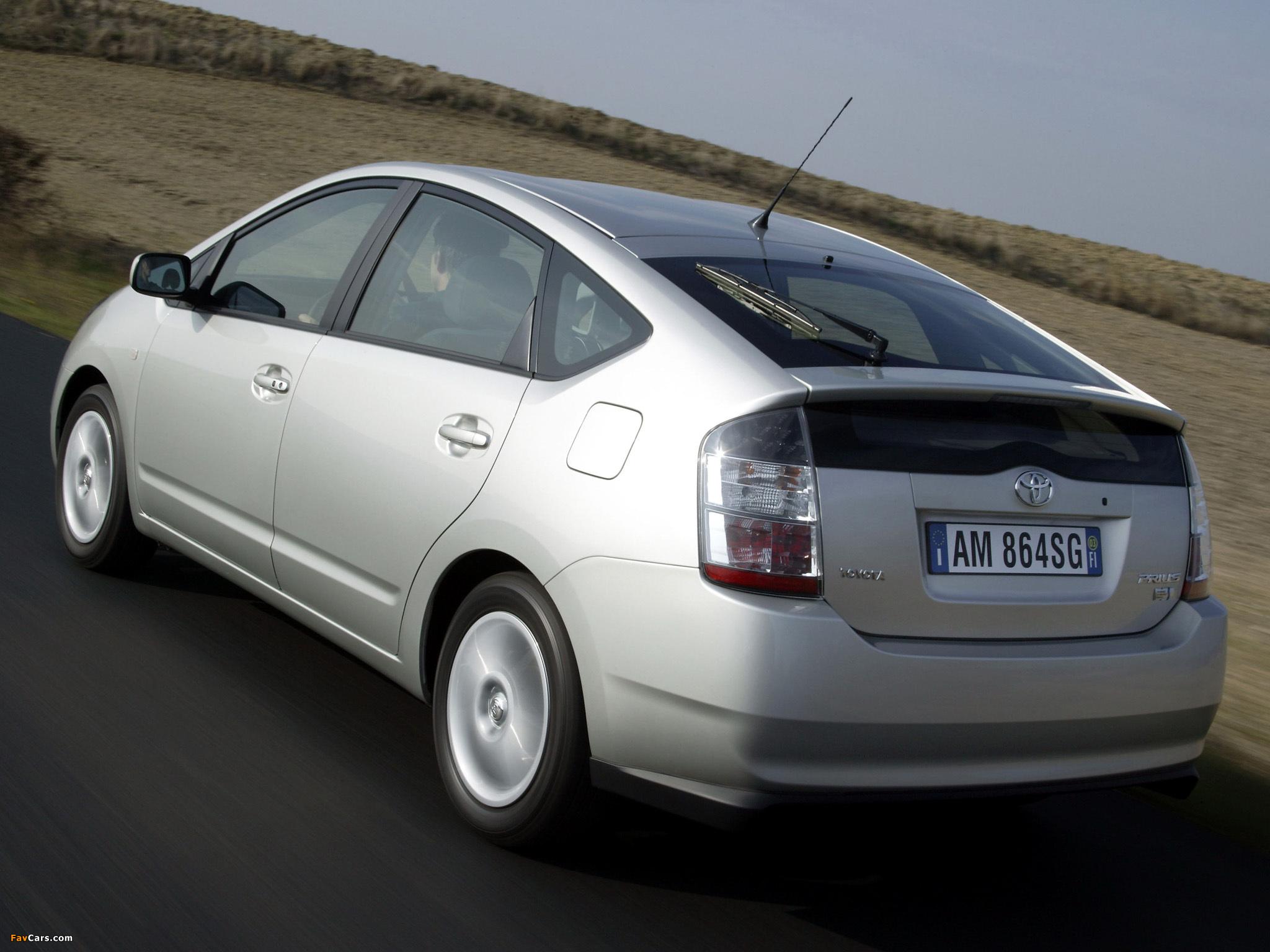 Toyota Prius NHW Images X - 2003 prius