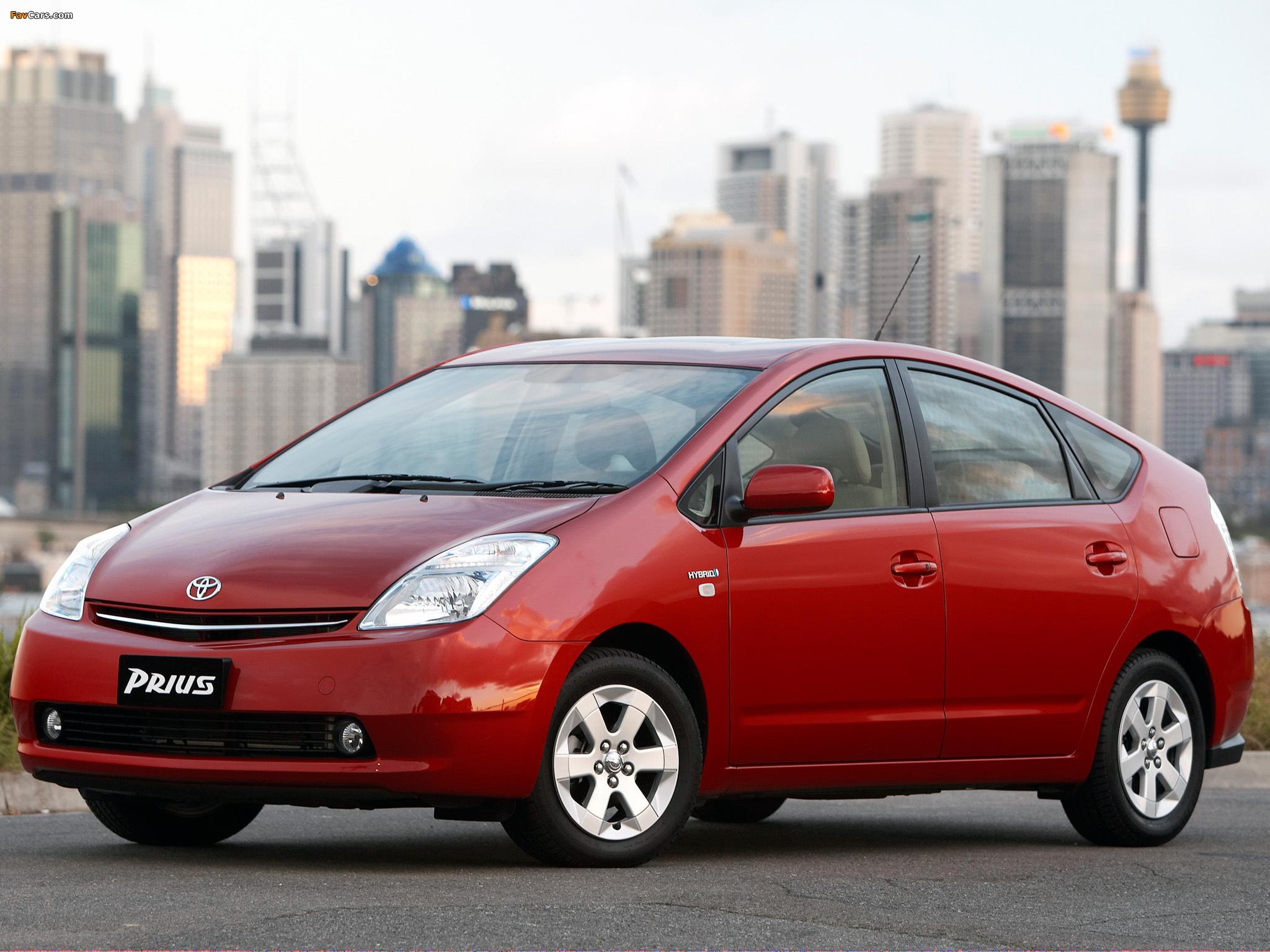 Toyota Prius AU-spec (NHW20) 2003–09 images (2048 x 1536)