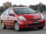 Toyota Prius AU-spec (NHW20) 2003–09 photos