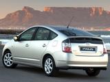 Toyota Prius ZA-spec (NHW20) 2003–09 pictures